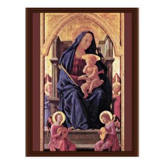 Polyptych For Santa Maria Del Carmine In Pisa Midd Postcard