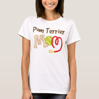 Pom Terrier Dog Breed Mom Gift T-Shirt