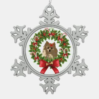 Pom Wreath Holiday Ornament