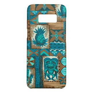 Pomaika'i Tiki Hawaiian Vintage Tapa Case-Mate Samsung Galaxy S8 Case