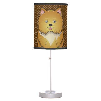 Pomapoo Dog Cartoon Paws Table Lamp