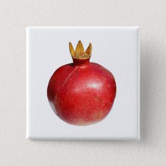 Pomegranate 2 Inch Square Button