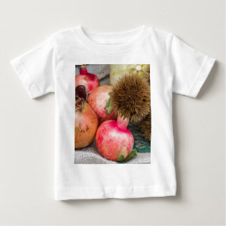 pomegranate and curly chestnut baby T-Shirt
