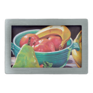 Pomegranate Banana Berry Pear Reflection Belt Buckle