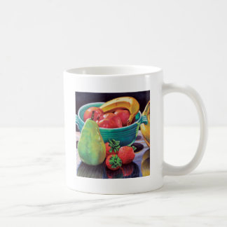 Pomegranate Banana Berry Pear Reflection Coffee Mug