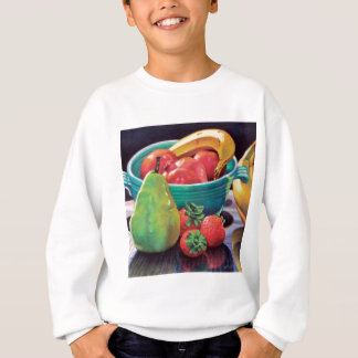 Pomegranate Banana Berry Pear Reflection Sweatshirt