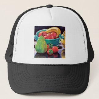 Pomegranate Banana Berry Pear Reflection Trucker Hat