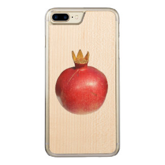 Pomegranate Carved iPhone 7 Plus Case