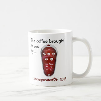 Pomegranate Coffee Mug (small, right-handed)