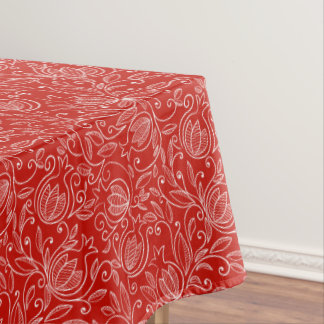 Pomegranate Cotton Tablecloth