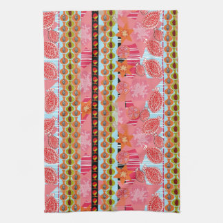 Pomegranate Explosion (Illustration) Tea Towel