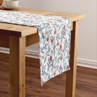Pomegranate Florals Short Table Runner