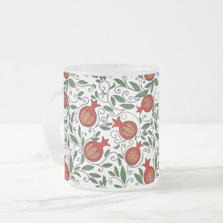 Pomegranate Glass Mug