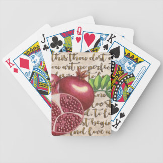 Pomegranate Love Once Again Bicycle Playing Cards