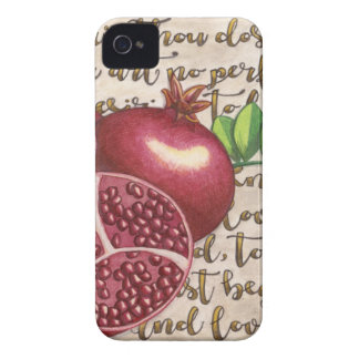 Pomegranate Love Once Again iPhone 4 Covers