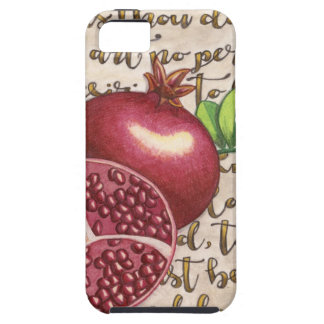 Pomegranate Love Once Again iPhone 5 Cases