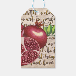 Pomegranate Love Once Again Pack Of Gift Tags