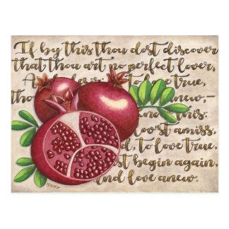 Pomegranate Love Once Again Postcard