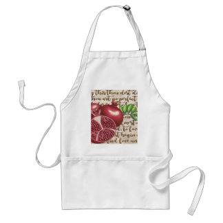 Pomegranate Love Once Again Standard Apron
