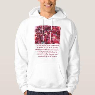 Pomegranate mens hoodie