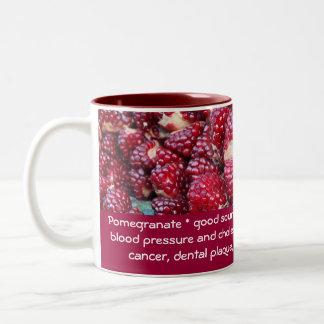 Pomegranate mug
