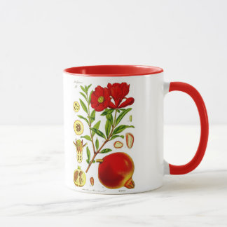 Pomegranate Mug (You can customize)