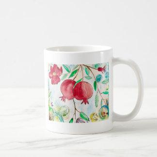 Pomegranate painting pomegranate art Wall art Coffee Mug