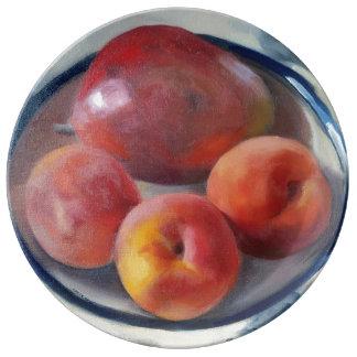 Pomegranate & Peaches Plate