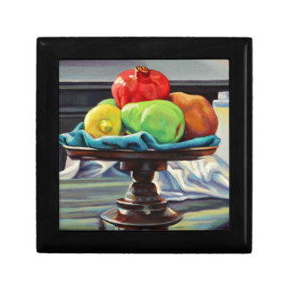 Pomegranate Pear Lemon Pedestal Gift Box