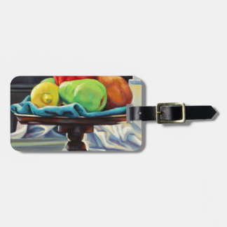 Pomegranate Pear Lemon Pedestal Luggage Tag
