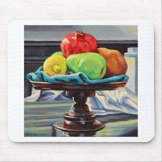 Pomegranate Pear Lemon Pedestal Mouse Pad