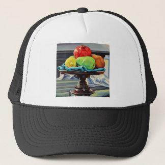 Pomegranate Pear Lemon Pedestal Trucker Hat