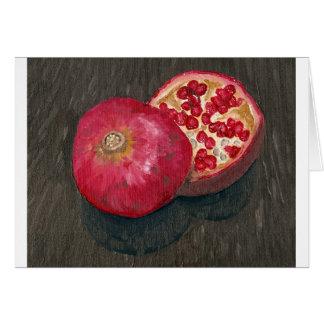 Pomegranates Card