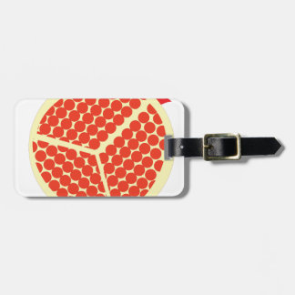 pomegrante in the inside luggage tag