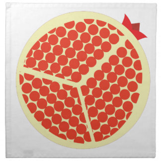 pomegrante in the inside napkin