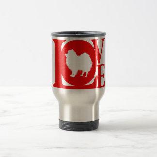 Pomeranian 15 Oz Stainless Steel Travel Mug