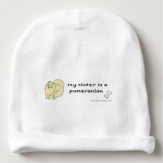 pomeranian baby beanie
