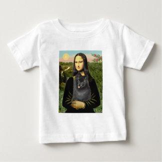 Pomeranian (black) - Mona Lisa Baby T-Shirt
