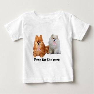 Pomeranian Breast Cancer Toddler Unisex Shirt