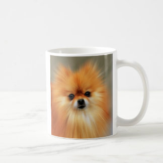 Pomeranian Classic White Coffee Mug