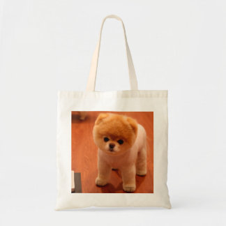 Pomeranian-cute puppies-spitz-pom dog-pom puppies tote bag