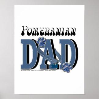 Pomeranian DAD Poster