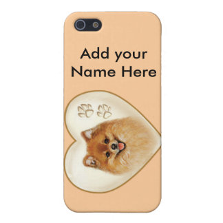 Pomeranian Dog Apple iPhone 4 case cover by Speck