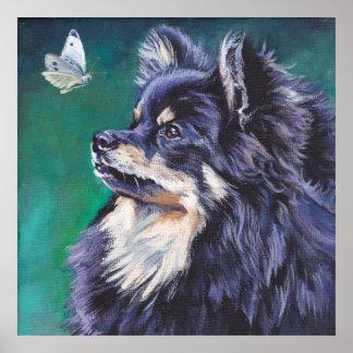 Pomeranian Fine Art Portrait Print