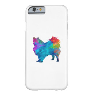 Pomeranian in watercolor barely there iPhone 6 case