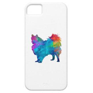 Pomeranian in watercolor iPhone 5 case