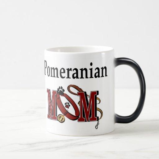 Pomeranian MOM Gifts Coffee Mugs