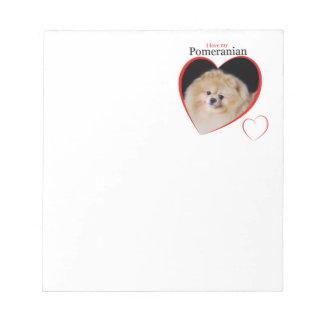 Pomeranian Notepad