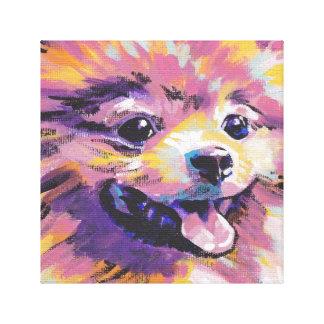 Pomeranian Pop Art Poster Print