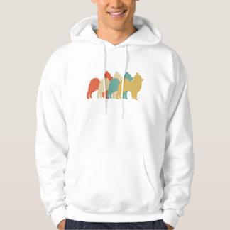 Pomeranian Retro Pop Art Hoodie